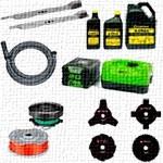 Принадлежности, аксессуары и расходные материалы для садовой техники