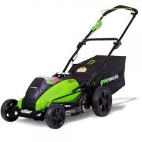 Аккумуляторная газонокосилка GreenWorks GD40LM45
