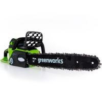 Аккумуляторная цепная пила GreenWorks GD40CS40