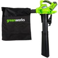 Аккумуляторный воздуходув GreenWorks GD40BV