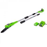 Аккумуляторный высоторез/сучкорез GreenWorks G24PS20K2