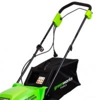 Электрическая газонокосилка GreenWorks GLM1035