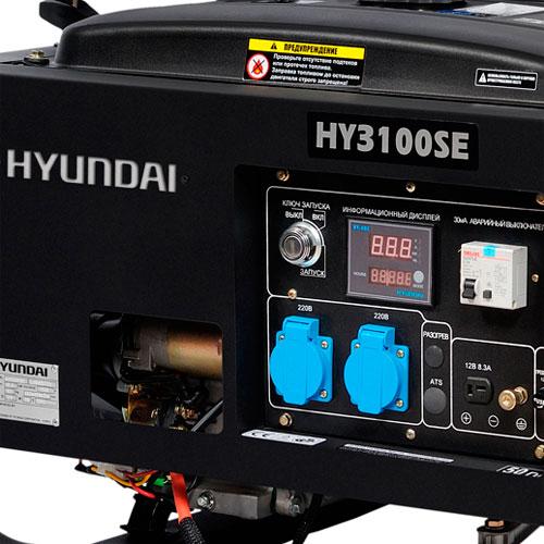 генератор hyundai hy3100se