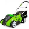 Купить Аккумуляторная газонокосилка GreenWorks G40LM40