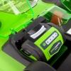 Аккумуляторная газонокосилка GreenWorks G40LM40