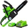 Купить Аккумуляторная пила GreenWorks G24CS25K2