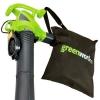 Электрический воздуходув-садовый пылесос GreenWorks GBV2800