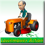 "Игра ""Lawnmower action"""